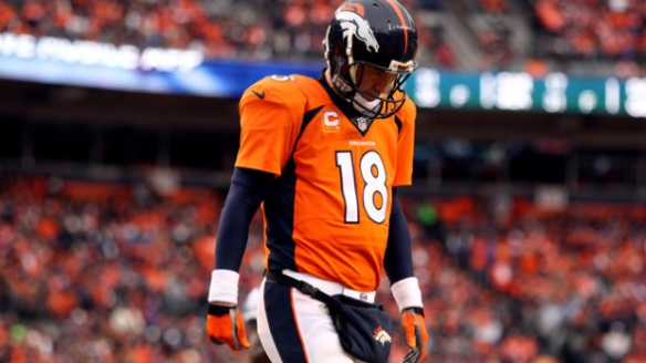 Peyton Manning turned in his 5th straight fantasy nightmare