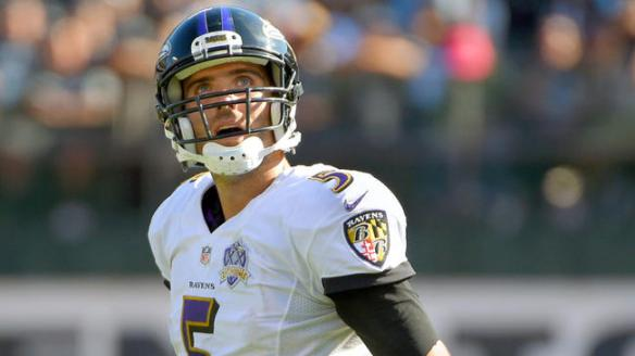 Joe Flacco has put up back-to-back games with more than 360 passing yards