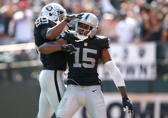 Michael Crabtree could be in a from big game against the Chargers