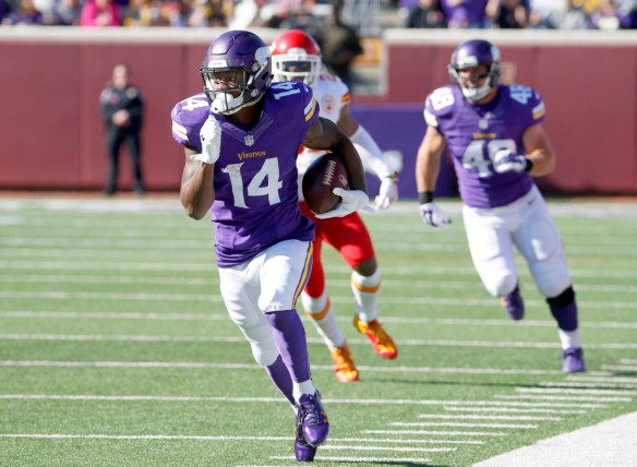 It's a mystery that Stefon Diggs is still UNOWNED in
