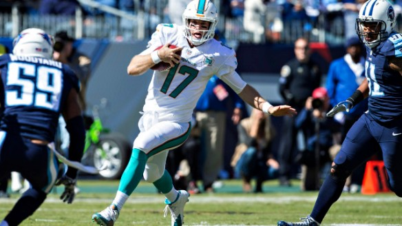 Ryan Tannehill wants to prove that last week's game against the Texans was no fluke.