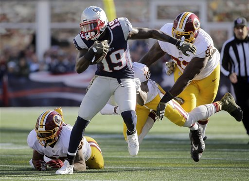 Brandon LaFell is moving to the top of the depth chart in New England