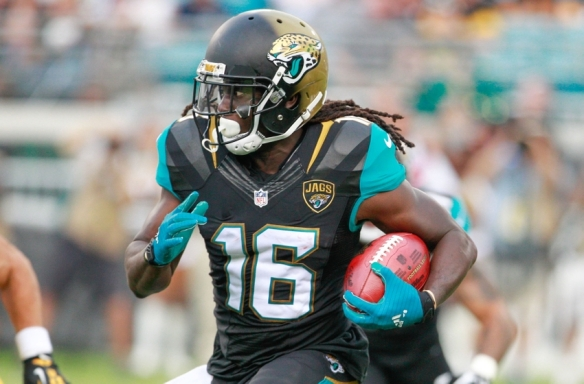Denard Robinson should provide a big boost for fantasy owners during Week 15