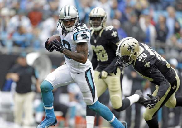 Despite a questionable amount of targets, Ginn is racking up the yards and touchdowns